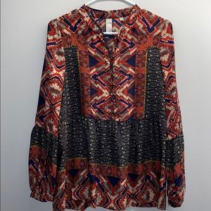 Anthropologie Silk Blouse